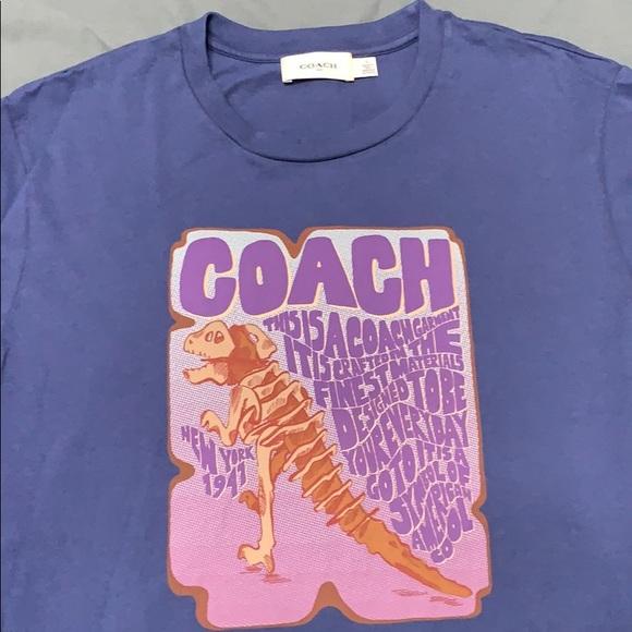 5215681a Coach Shirts | Rexy Storypatch Sketch Tshirt | Poshmark